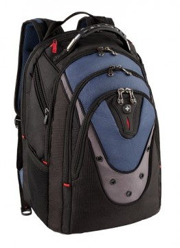 poza Wenger, Ibex 17 inch Computer Backpack, Blue