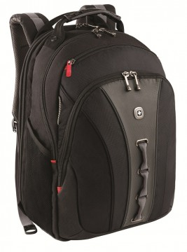 poza Wenger Legacy 16 inch Computer Backpack, Black/Gray