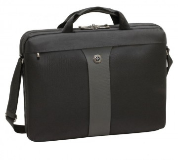 poza Wenger Legacy 17 inch  Slimcase,Black/Gray