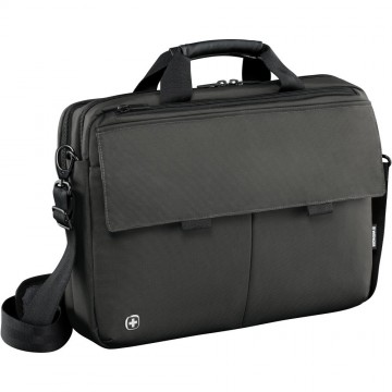 poza Wenger Route, 16 inch Laptop Messenger with Tablet Pocket, Black