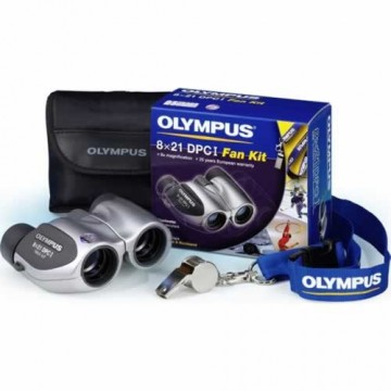 poza Olympus  8 x 21 DPC-I Silver Fan Kit (with whistle, case  and  strap
