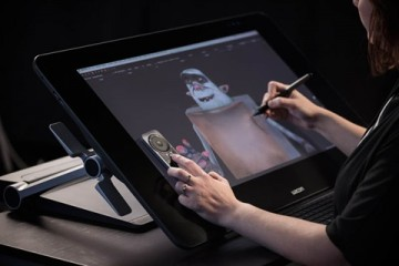 poza Wacom Cintiq 27QHD Interactive Pen Display
