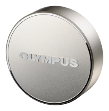 poza Olympus LC-61 Lens cap silver (metal) for the M7518