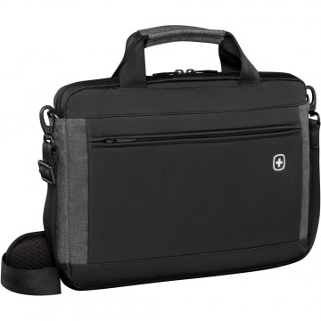 poza Wenger Incline, 16 inch  Laptop Slimcase w/ Tablet Pocket, Black