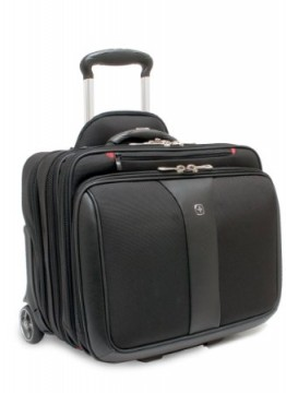poza Wenger  Potomac 15.4 inch Double Gusset Wheeled Computer, Black