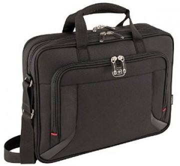 poza Wenger Prospectus 16 inch  Laptop Brief W/Tablet, Black (R)
