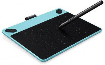 poza Wacom Intuos Comic Blue PT S North