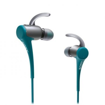 poza Casti audio in-ear Sony Splashproof, MDRAS800BTL, Albastru