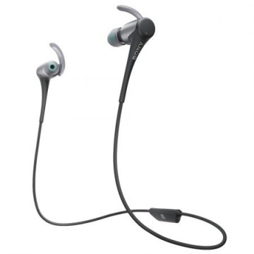 poza Casti audio In-ear Sony, Sport, MDRAS800BTB, Bluetooth, Negru