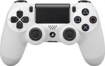 poza Controller Wireless Sony Dualshock 4 PS4 Alb