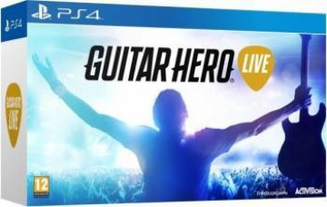 poza Guitar Hero Live Bundle Joc + Chitara - PS4