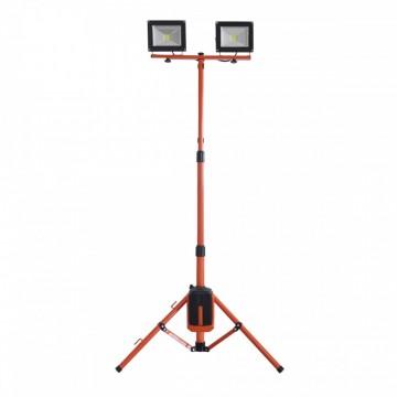poza Stand 2 proiectoare cu led 2x20W Redback ED40