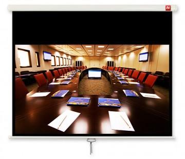 Poza Avtek Business 240 (projection area 230x144cm; 16:10; Matt-White; black borders)