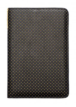 poza PocketBook  Cover 622/623 perforated, black / yellow