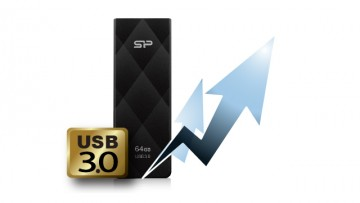 poza SP USB 3.0, Blaze B20  8GB, Black