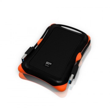 poza SILICON POWER  HDD 2.5  ARMOR A30  USB 3.0 1TB BLACK