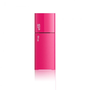 poza SILICON POWER  USB 2.0 Ultima 05 16GB , Pink