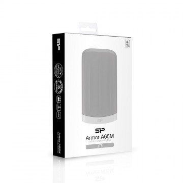 poza SILICON POWER  HDD  2,5   2TB Grey, Anti-shock/water proof for Mac