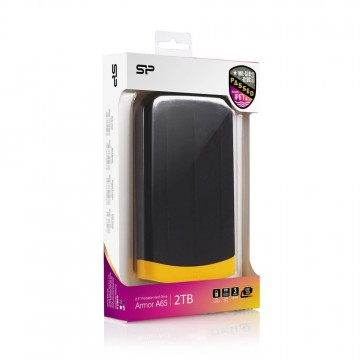 poza SILICON POWER  HDD 2.5    Armor A65  2TB USB 3.0 Black