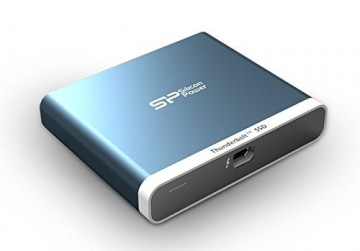 poza External SSD Thunderbolt T11 240 GB Blue for MAC