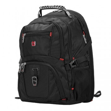 poza Sumdex  SCHWYZ CROSS HeavyHorse 16  black backpack