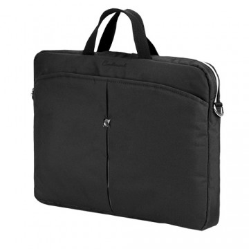 poza Continent Notebook case 15 inch -16 inch  Black/Silver