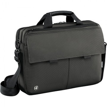 poza Wenger Route, 16 Laptop Messenger with Tablet Pocket, Gray (R