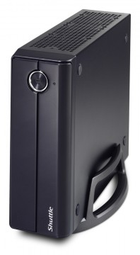 poza Shuttle Slim-PC Barebone XH170V Black