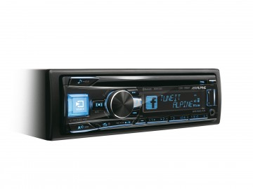 poza Alpine CDE-195BT RADIO CD USB BLUETOOTH