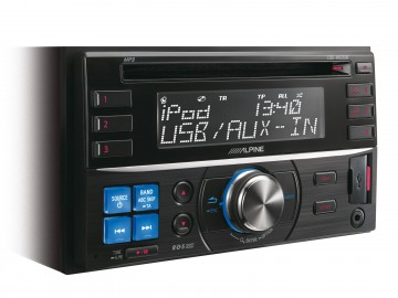 poza Alpine CDE-W233R RADIO CD 2DIN CU USB SI CONTROL i-Pod