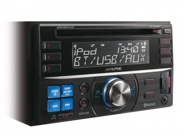 poza Alpine CDE-W235BT  RADIO CD 2DIN CU USB SI BLUETOOTH