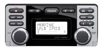 poza Clarion CMD8  Radio CD USB MP3 WMA rezistent la apa