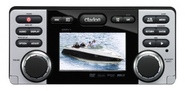 poza Clarion CMV1 DVD CD USB MARIN REZISTENT LA APĂ