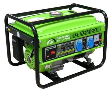 poza Generator monofazat Greenfield G-EC3800  3kva