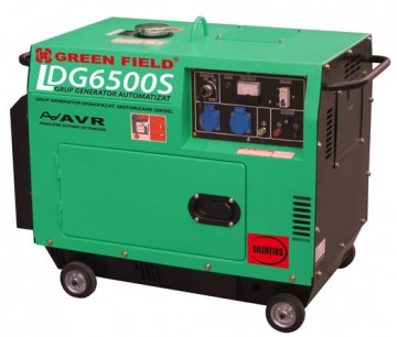 poza Generator monofazat Greenfield LDG6500S_A  5,5kva