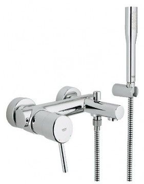 poza Baterie cada si dus GROHE Concetto 32212001 Para Furtun Suport perete dus