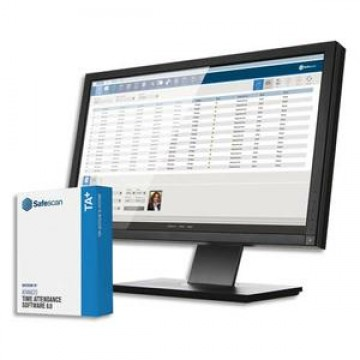 poza Soft pentru Sistem de pontaj Safescan TA+ Software 8.0 TA-series Retail pack
