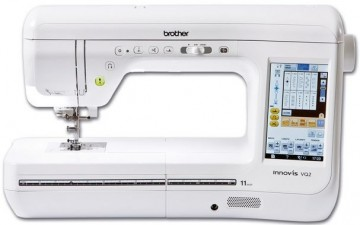 poza Masina cusut si quilting casnica computerizata Brother Innovis VQ2, touch screen