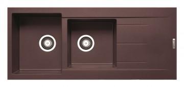 poza Chiuveta Granit Alazia - Chocolate 1160mm*500mm