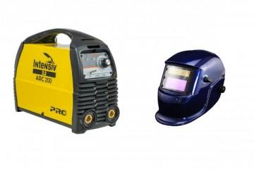 poza Intensiv ARC 200 VRD - Aparat de sudura tip invertor + Masca cristale BLUE