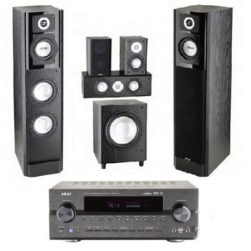 poza Sistem Home Cinema Akai Home Cinema AS008RA-6100/SS015A, amplificator 51