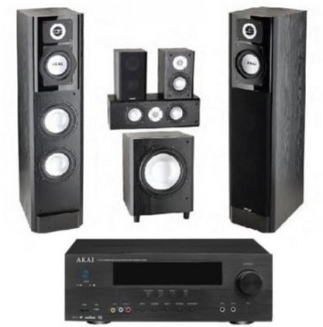 poza Sistem Home Cinema Akai Home Cinema AS006RA-2000H/SS015A, amplificator 51
