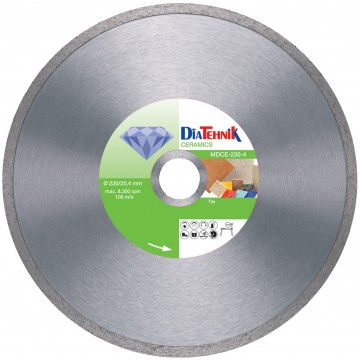 poza Disc diamantat Ceramics 250x30-25,40mm pentru gresie si faianta [MDCE-250-6]