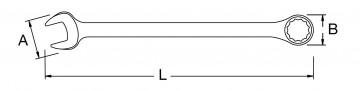poza Cheie combinata 32mm [SA40223]
