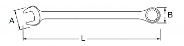 poza Cheie combinata 26mm [SA40235]