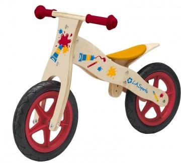 poza Bicicleta LA Sports de lemn 12