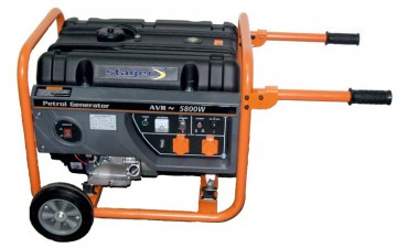 poza Generator open frame benzina Stager GG 7300W
