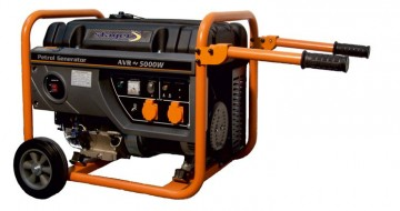 poza Generator open frame benzina Stager GG 6300W