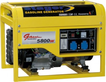 poza Generator open frame benzina Stager GG7500 E+B