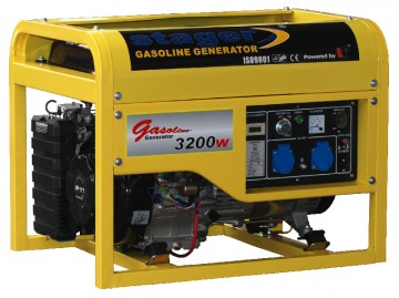 poza Generator open frame benzina Stager GG4800E+B